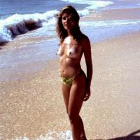 Fishermen's Lucky Day - Bikini Voyeur, High Heels Amateurs, Beach