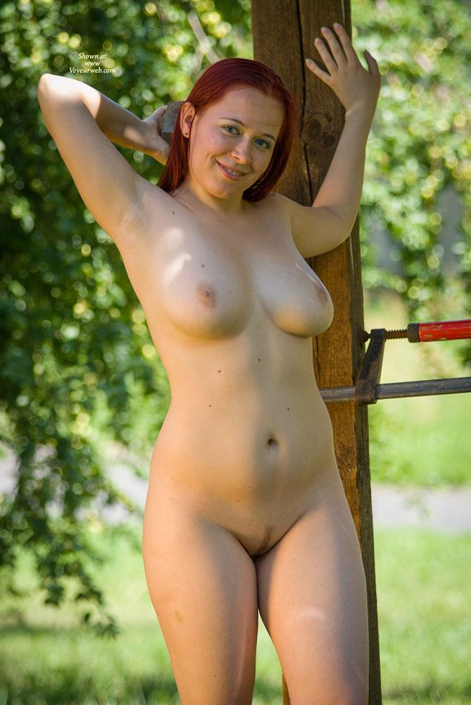 "Blue Eyes - Big Tits, Nude In Public, Nude Outdoors, Redhead , She Was That ""white Skinned"" Girl With Lin In The Pool, Who Some Guys Wanted To See A Little Closer..."