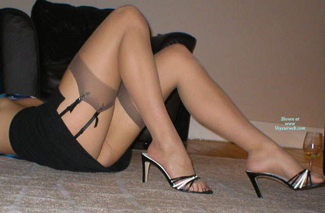 Pic #1Heels And Nylon Stockings