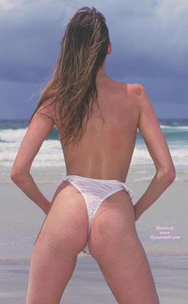 White Thong Bikini , White Thong Bikini