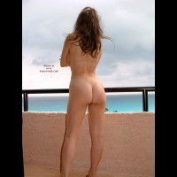Standing Naked On Balcony - Brunette Hair, Nude Outdoors, Tan Lines , Standing Naked On Balcony, Long Brunette Hair, See View, Nude Outside, Tanlines, Naked On Balcony, Enjoy The Wheter, Hot Ass On Balcony