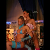 *gg Maya And Christine Playing