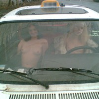 Two Nude Girls In Taxi - Blonde Hair, Brunette Hair, Flashing, Topless, Naked Girl, Nude Amateur , Nude In A Taxi, Titty Cab, Open Fur Coat In A Car, Naked In Car, Sexy Taxi, White Winter Jacket, East Euro-chicks, Driving Nude, Two Women Flashing, White Headband, Brunette And Blonde, Two Pairs In Car
