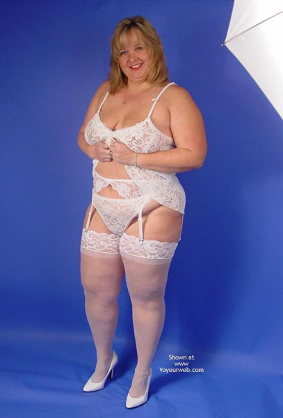 Pic #1 Connie In White Lace