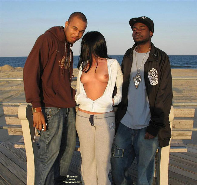 Flasher Girl Flanked By Men - Black Hair, Flashing, Long Hair, Perky Tits, Naked Girl, Nude Amateur , White And Gray Sweats, Long Loose Black Hair, Open Hoodie, Sweats, Public Nudity, Open Shirt, Flashing Perky Tits, White Cotton Hoodie, Grey Sweat Pants, Semi Nude, Sweat Suit, Top Open, Girl Posing Outside, Open Hoodie, Sweat Pants