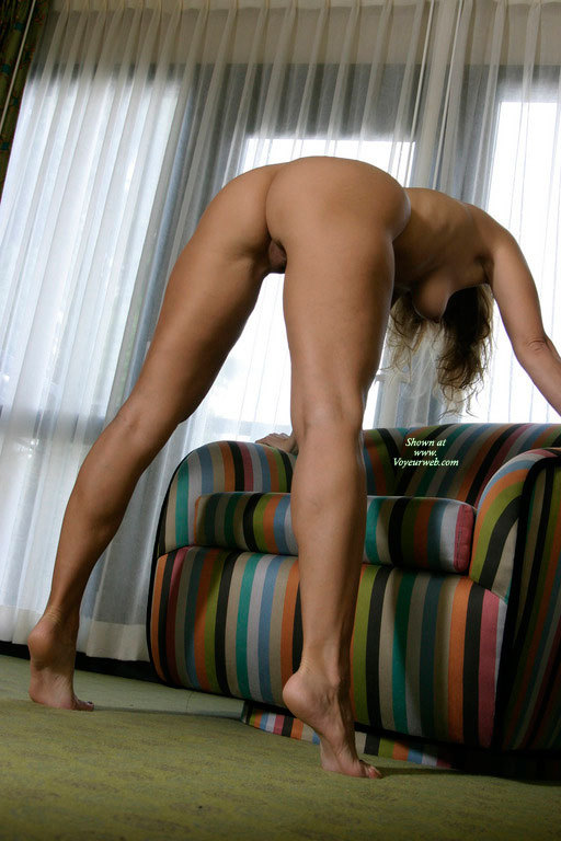 Full Nude Bent Over Armchair - Blonde Hair, Long Hair, Spread Legs, Naked Girl, Nude Amateur, Sexy Ass , Backside View, Nude Bent Over Chair, Tight Ass, Sexy Feet, Leaning Over, Hanging Tit, On Tiptoes, Pointed Nipple