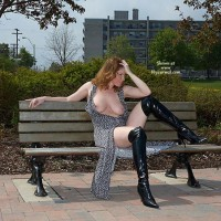 Lisajane In Her Sexy Black Boots