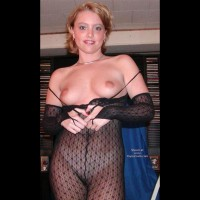 Seethrough Underwear - Large Nipples, Red Lips, Small Tits, Underwear , Seethrough Underwear, Black Bodystocking, Red Lips, Large Nipples, Small Tits, Black Lace Bodystocking, Catsuit Pulled Down