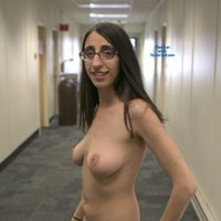 Maria Flashes a College Campus - Big Tits, Brunette Hair, Exposed In Public, Nude In Public , I May Look Classy, But I'm A Very Adventurous Swinger Behind Closed Doors... Or Maybe In Public Places Like This.. What Would You Like Do With Me If You Caught Me?