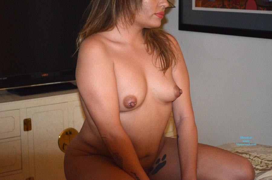 Great Pierced Breast - Blonde Hair