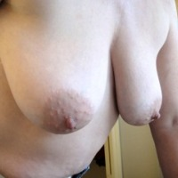 Large tits of my wife - Jan