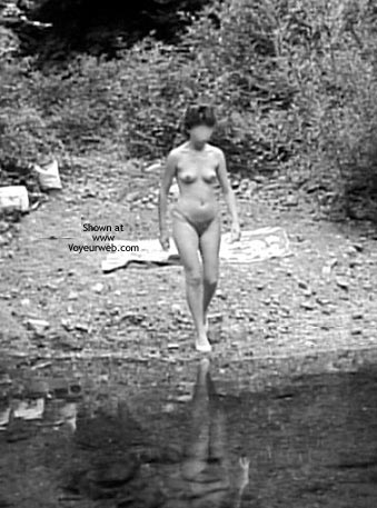Pic #1 Rosy At The River Ii – Italy 1983 (B/W)