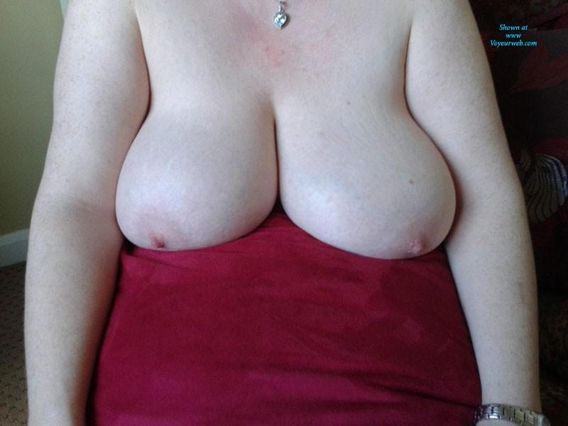 Pic #1 White, Blue & Red - Big Tits