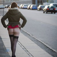 Pantyless Flashing - Exposed In Public, Flashing, Nude In Public , The Spring Is Over Us, And The Temperatures Start To Go Up. Pretty Convenient When You Have An Exhibitionist In You, And Loves To Flash In Public :) Hope You Will Enjoy