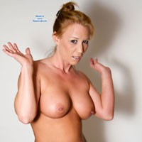 Panties Down, Bra OFF ! - Big Tits , I'm Just Wanting To Get Naked ! Damit !