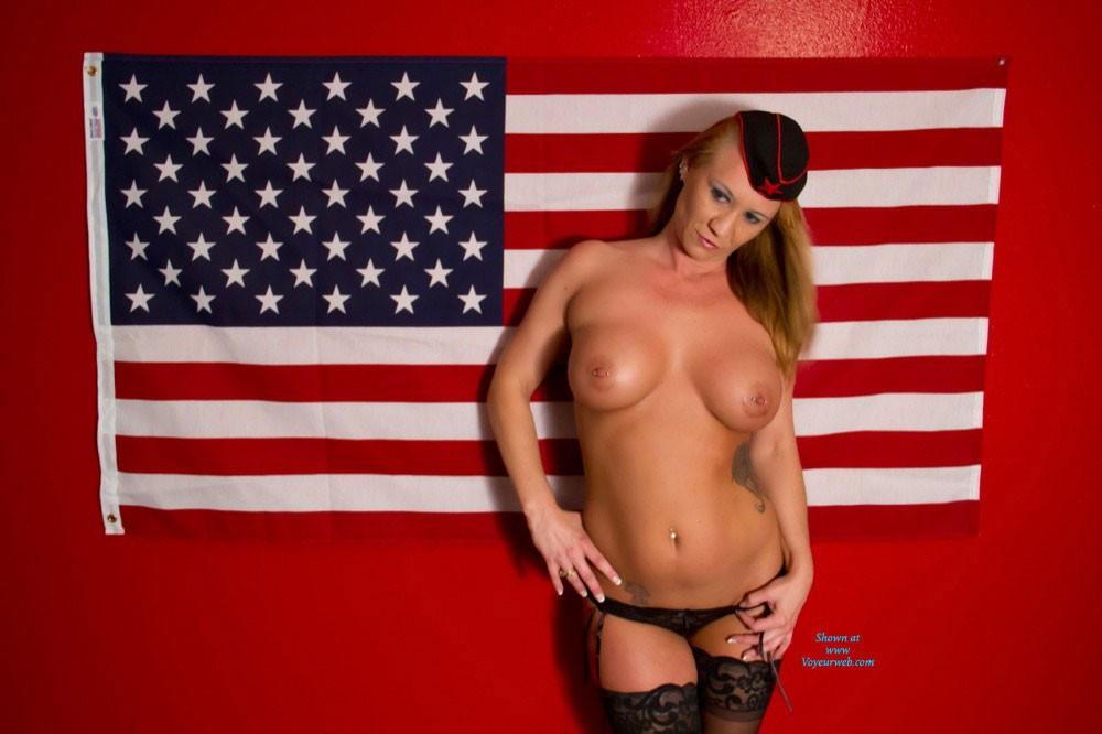 Thank You ! - Big Tits, Heels , I Solute All Those Men And Women That Fight For Our Freedom ! Thank You !