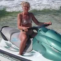 Dare to Bare - Blonde Hair, Beach Voyeur