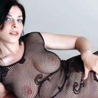 Sexy Vilena - Brunette Hair, Sexy Lingerie