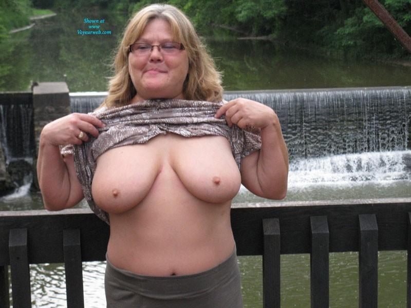 Pic #1 Fun in The Park - Big Tits