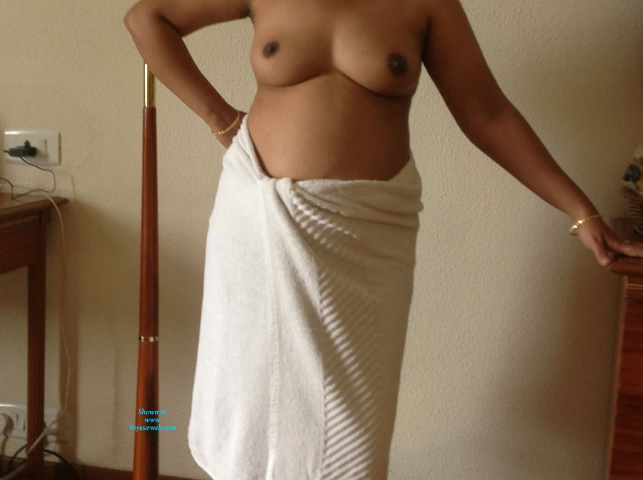 Pic #1After Shower - Big Tits, European And/or Ethnic