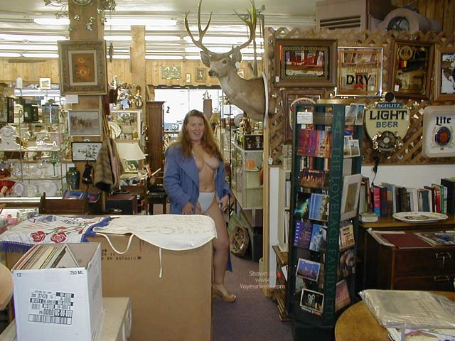 Pic #1 Antique Shopping With Redhead In Seattle