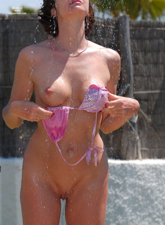 Frontal Nude In Outdoor Shower - Erect Nipples, Firm Tits, Nude Outdoors, Perky Nipples, Shaved Pussy, Naked Girl, Nude Amateur , Pretty Pink Coverup, Shaven Pussy, Fresh And Clean, Necklace With Small Beads, Bikini Comming Off, Standing In Outdoor Shower, Pink Bikini Top In Hand, Wet Skin, Dropping Top Naked In Shower, Slow Strip Shower, Dripping Wet, Nude With Pink Bikini Top, Showering Outside, Wedding Ring, Totally Shaved Woman Take Outdoor Shower, Pink Bikini, Pointed Nipple