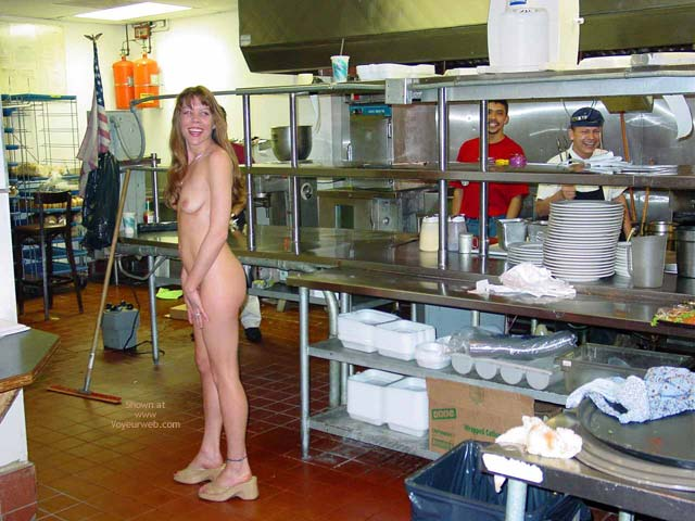 Nude In Kitchen - Long Hair, Nude In Public, Small Tits , Nude In Kitchen, Indoor Nude, Nude In Public, Long Blonde Hair, Small Tits