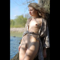 Big Nipples - Blonde Hair, Blue Eyes, Long Hair, Small Tits, Naked Girl, Nude Amateur , Leaning Against A Tree, Flowing Hair, Long Flowing Blond Hair, Standing In Nature, Relaxed Smile, Hairy Pussy, Nude In Nature, Outdoors Beside A Lake, Outdoor Tit And Pussy, Exposing Pussy And Tits Outdoors