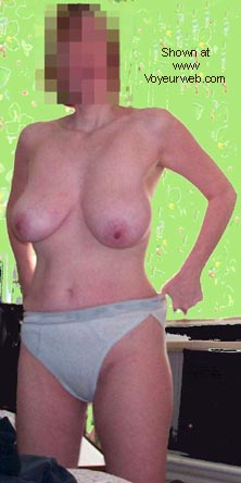Pic #1 Busty Wife's First Time