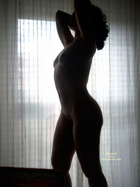 Pic #1 Spanish Flame Naked By The Window