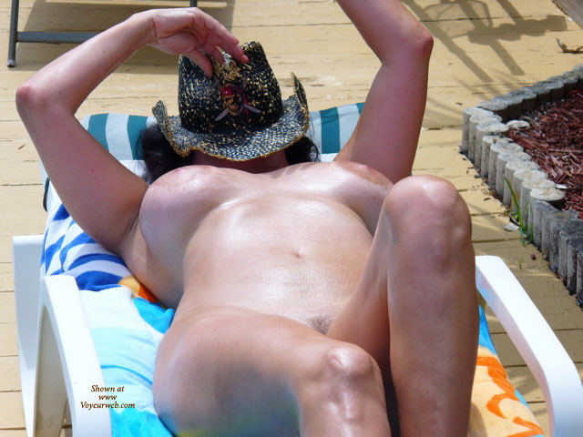 Nude Wife Covering Face With Cowboy Hat - Big Tits, Large Aerolas, Long Hair, Long Legs, Naked Girl, Nude Amateur, Nude Wife , Maximum Cleavage, Oily Skin, Sunning Large Tits, Trimmed Pubic Hair, Girl Nude Sunbathing, Nude Sunbathing