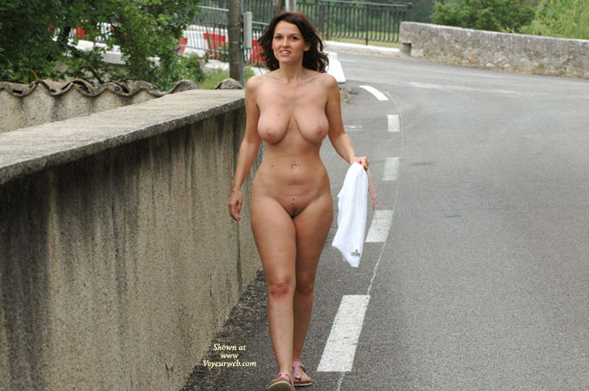 Exhibitionist Milf In Street Naked - Big Tits, Brown Hair, Dark Hair, Exhibitionist, Flashing, Long Hair, Milf, Nude In Public, Nude Outdoors, Trimmed Pussy, Naked Girl, Nude Amateur , Very Curvy, Nude On A Road, Big Boobs, Public Exhibitionist Girl, Full Frontal, Soft Bouncy Breasts, Long Dark Brown Hair, Walking Nude On A Road