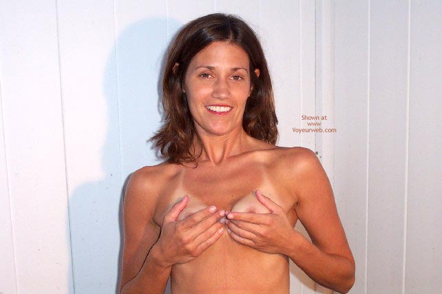 Small Perky Tits In Hands - Brunette Hair, Hand Bra , Small Perky Tits In Hands, Brunette Hair, Cupping Her Tits, Hand Bra
