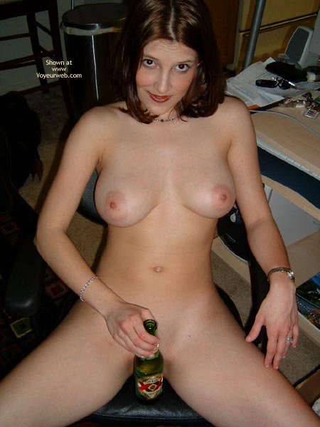Naked In The Office , Naked In The Office, Covered Pussy