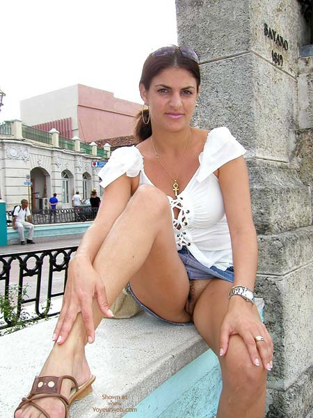 Pic #1 Vanessa- Visiting The City