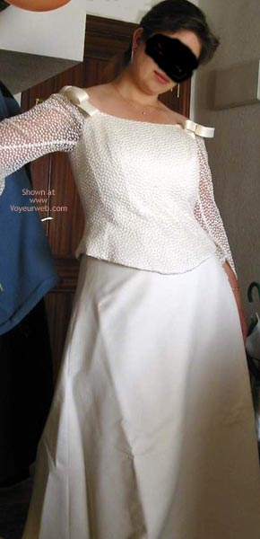 Pic #1 Lisa In Wedding Clothes