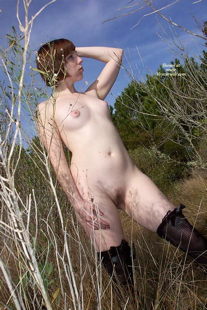 Pastey-white Redhead Standing In A Field With Puffy Nipples And A Golden Bush - Brown Hair, Dark Hair, Small Breasts, Stockings, Naked Girl, Nude Amateur , Sexy Pose, Black Knee High Stockings, Nude In Woods, Naked Girl Stands In Bushes, Porcelain Statue, Pink Areolas, Smooth Milky Skin, Puffy Areolas, Black Lace Top Stockings, Standing In Nature, Little Bush, Hairy Pussy, Snow White, Small Breasts, Short Straight Brown Hair