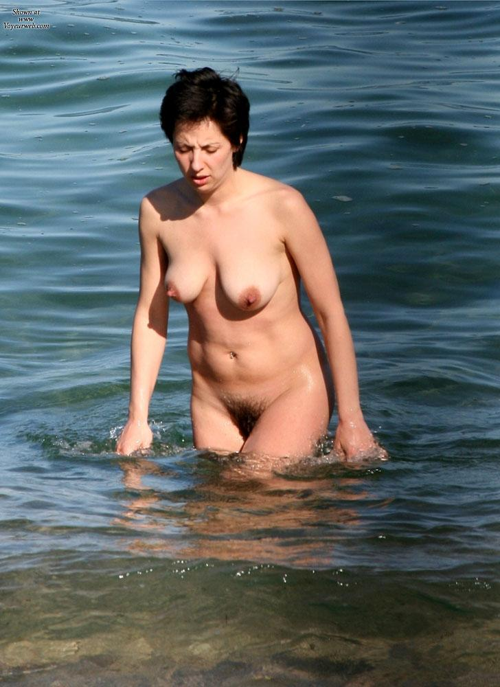 On Nude Beach From France - September, 2012 - Voyeur Web-2564