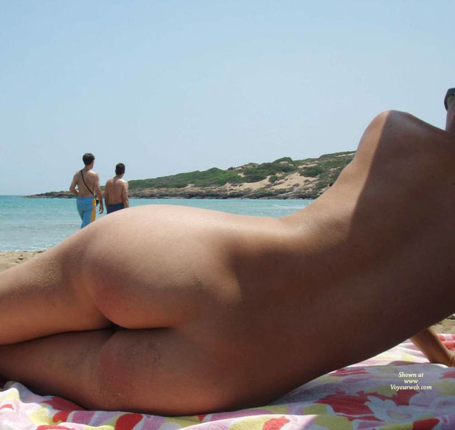 Bare Ass On The Beach - Naked Girl, Nude Amateur , Public Nudity, Ass On The Beach, Great Ass On A Beach, Ass Shot, Lying On Her Side, Nude On Beach, Lying On The Beach, Bare Ass On A Blanket, Lying On A Towel On The Beach