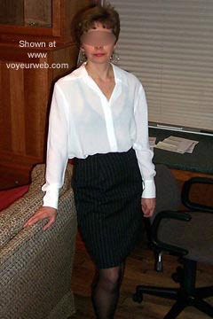 Pic #1 Private Model's Office Attire