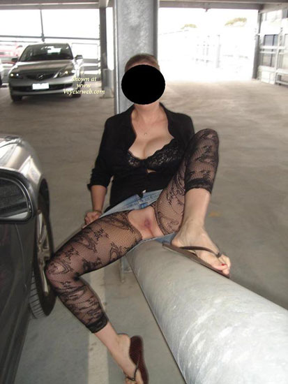 Love Flashing , Just Some Out And About Flashing To Hubby