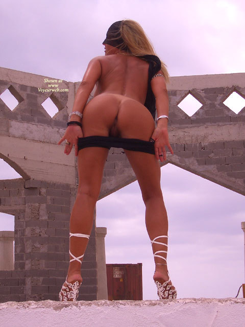 Bending Over Exposing Pussy - Blonde Hair, Flashing, Round Ass, Sexy Ass , Naked Outside, Flash The Ass, Sexy Toned Back, Heeled Rear Entry, Ass Toward Camera, Ass And Pussy, Pantine Pulled Down Showing Pussy, Round Tanned Ass, From Below, No Face, Hint Of Arse Hole, Outdoor Ass Shot, Flashing Ass And Pussy