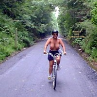 Sher on a Bicycle