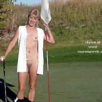 Dianna on the Golf Course