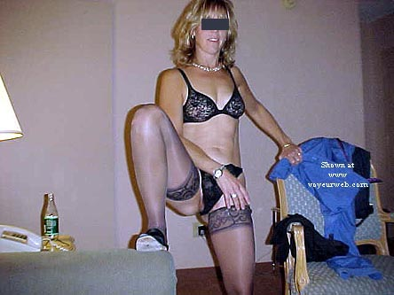 Pic #1 My Horny Exhibitionist Wife