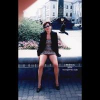 Vicki in the Street