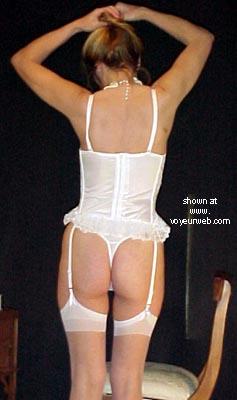 Pic #1 J In White Corset
