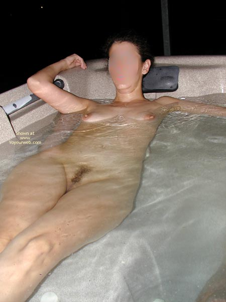 Pic #1 Wife In The Hot Tub