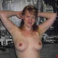 In The Living Room - Big Tits, Bikini Voyeur, Shaved