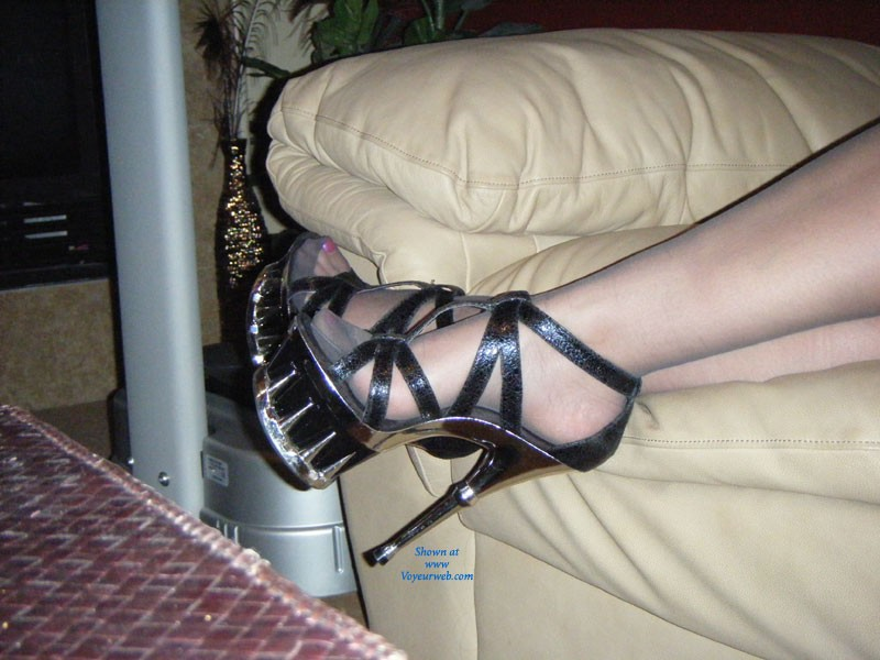 Pic #1Some of My Heels - High Heels Amateurs, Big Tits, Blonde, Dressed, Pussy